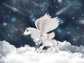 Pegasus fairy tale — Stock Photo