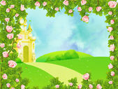 Fairy castle — Stock Photo