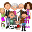 Happy family — Stockfoto #30524133