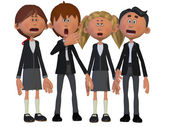 Children Chorus — Stock Photo