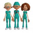 Hospital team — Stock Photo #31071803