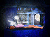 Lucid dreaming — Stock Photo