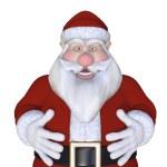 Santa Claus 3d — Stock Photo