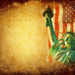 America grunge background — Foto de Stock