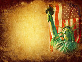 America grunge background — Stock Photo