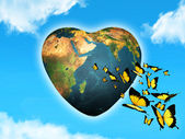 Loving planet — Stock Photo
