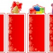 Set of Christmas banners — Stock Vector #13557363