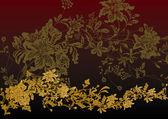 Luxury flower background — Stock Vector