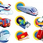 Travel icon set — Stock Vector #14081175