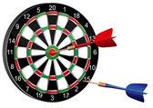 Darts (vector) — Stock Vector