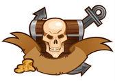 состав пират — Cтоковый вектор