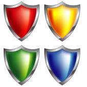 Shield icon — Stock Vector
