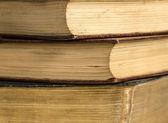 Tři starožitné knihy — Stock fotografie