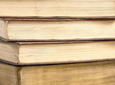 Four antique books — Stockfoto