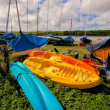 Stock Photo: Three Ocean Kayaks
