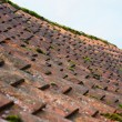 Weathered pantile roof — Stock Photo