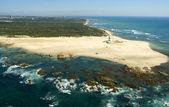 Foto aérea del faro de port elizabeth, sudáfrica — Foto de Stock