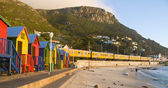 Cape Town - St James Houses — Stock Photo