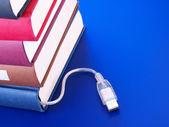 Libros electrónicos. — Foto de Stock