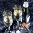 Champagne toast. — Stock Photo #13622688