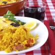 Постер, плакат: Crusted rice Arroz con costra