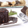 Chocolate Cake - Stockfoto