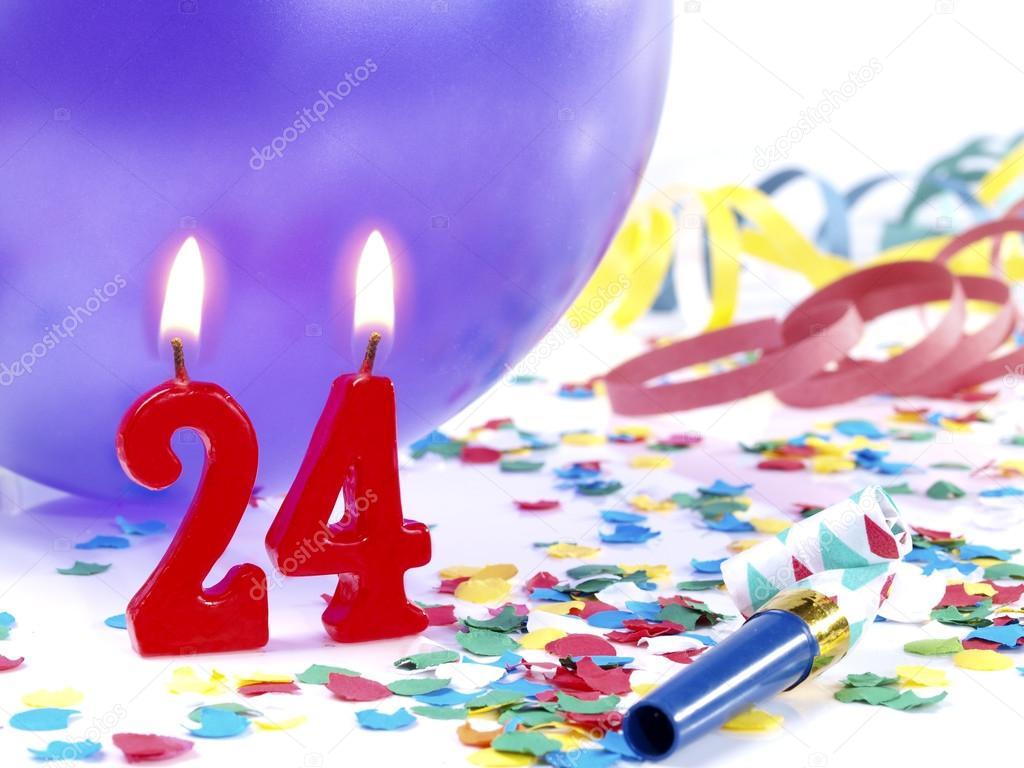 Поздравления с 24 дня рождения