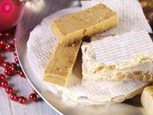 スペインのクリスマスのお菓子. — ストック写真