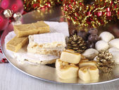Spanish Christmas sweets. — Stock Photo