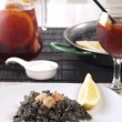 Arroz Negro – Black Rice — Stock Photo