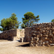 Iberic ruins in Spain - Stock Photo