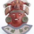 Ceramic Mayan Mask. — Stock Photo