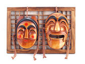 Korean Masks. — Stock Photo