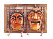 Masques coréens. — Photo