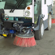 Street sweeper. - Stock Photo