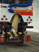 Street sweeper. — Stock Photo