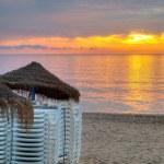 Beach at sunrise. — Stock Photo #13884878