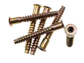 Socket hex head screws. — Stock Photo