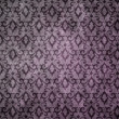 Vintage damask wallpaper — Photo