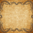 Vintage shabby background with classic ornament — Stok fotoğraf