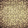 Damask wallpaper (classical ornament) — Lizenzfreies Foto