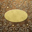 Decorative paper background (vintage scrapbook cover) — Stock Photo