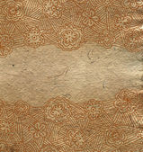 Vintage shabby background with classic ornament — Foto Stock