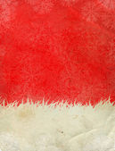 Santa Claus hat background — Stock Photo