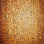 Rusted metal wall — Stock Photo