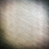 Iron plate - brushed iron — Stock Photo