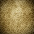Vintage shabby wallpaper — Stock Photo