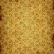 Damask vintage wallpaper — Stock Photo