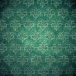 Vintage shabby wallpaper (ornament background) — Photo