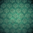 Vintage shabby wallpaper (ornament background) — Stock Photo